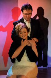 Stephen Deininger (Jamie) and Brett Hurt (Cathy) perform 'The Next Ten Minutes'