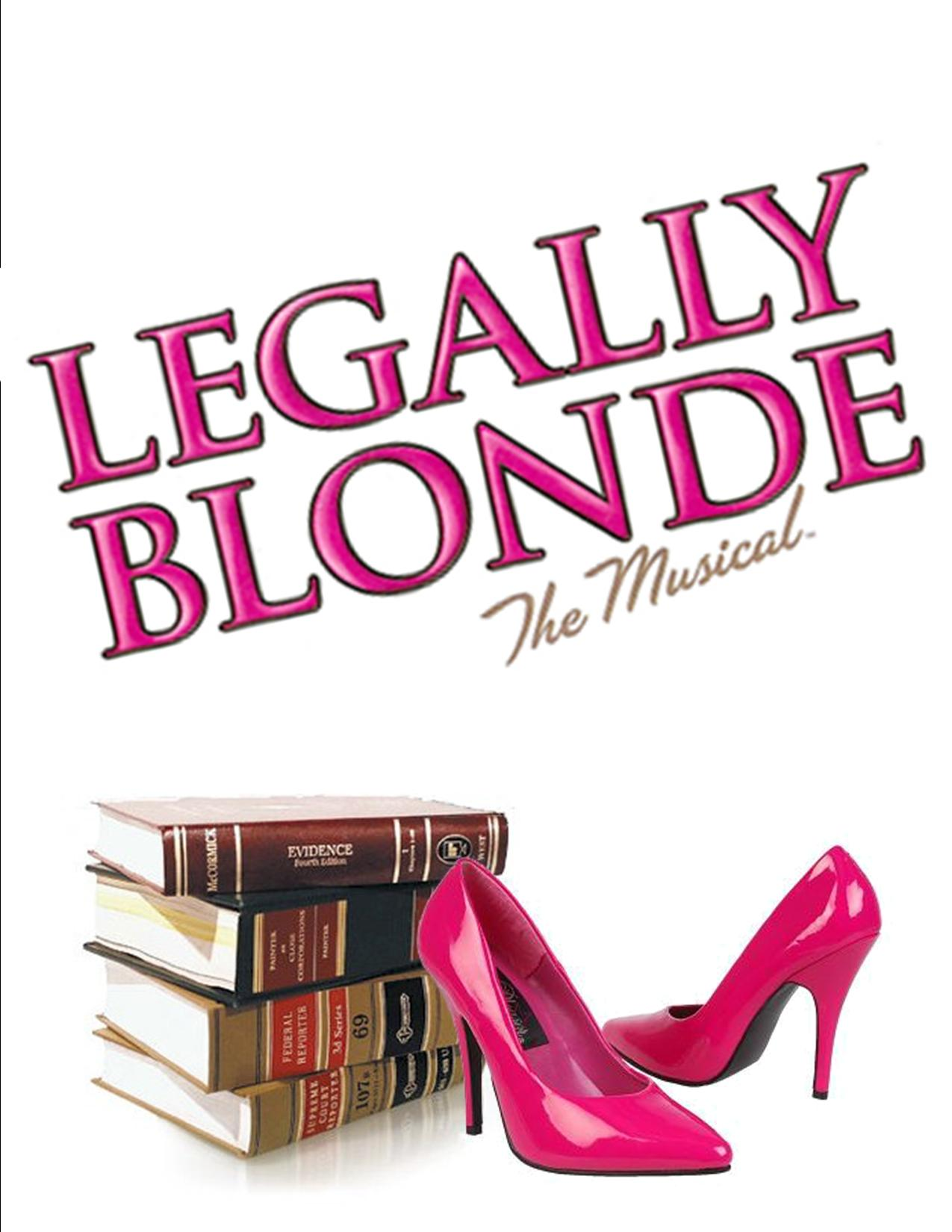 Legally Blonde The Musical Logo Theatre Legally Blonde -
